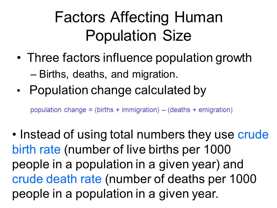 Are there any limits on the growth of the human population?