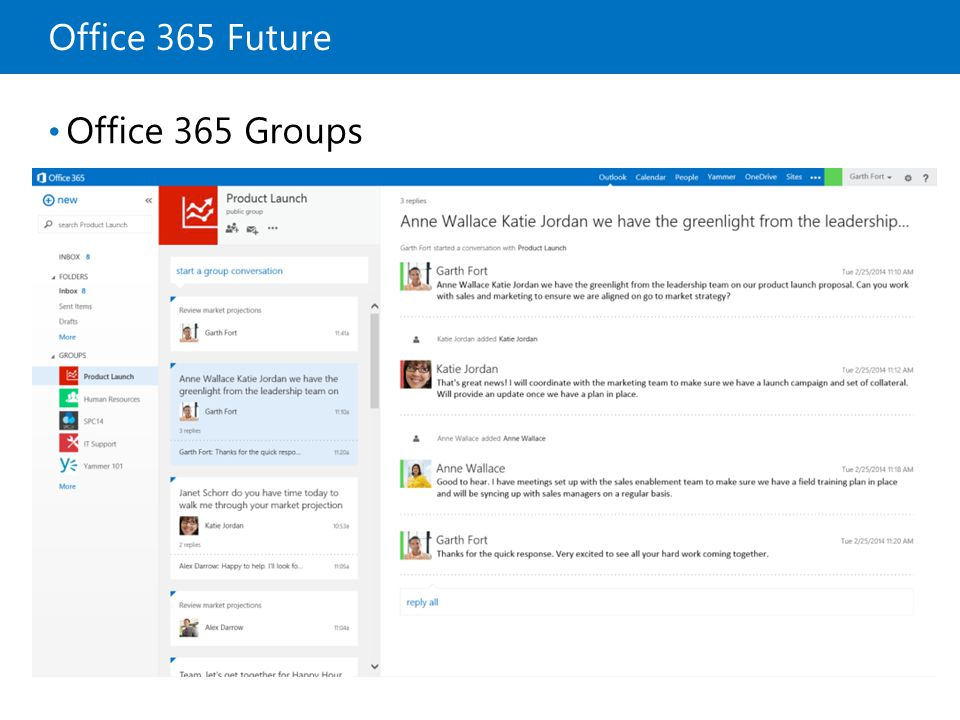 launch office 365