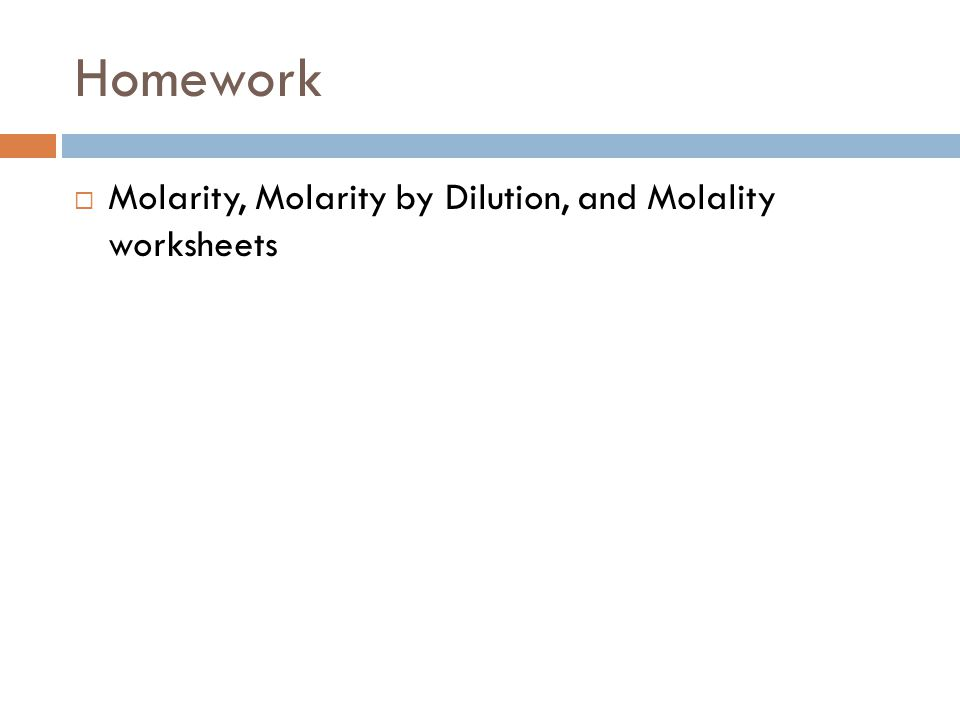 homework help and molality