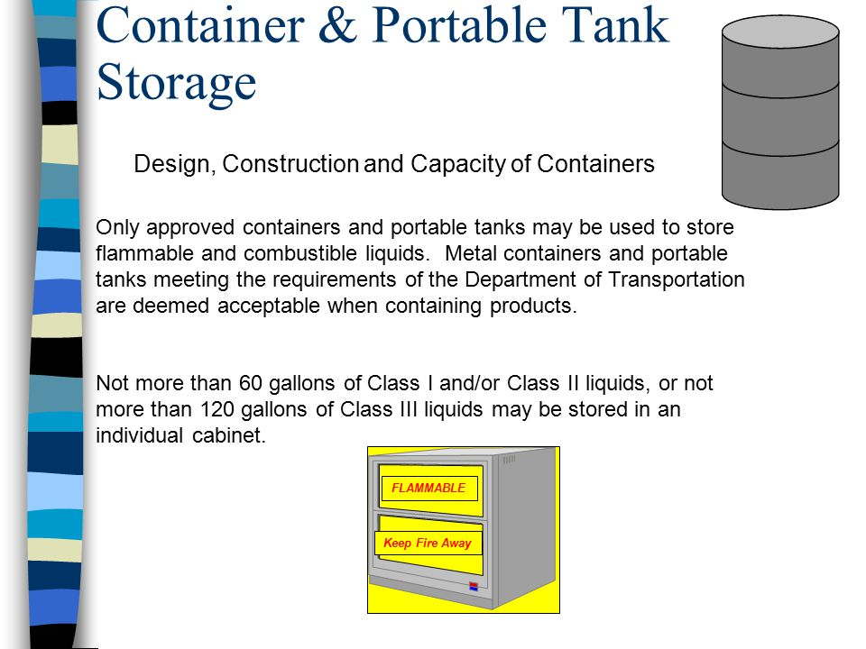 Container & Portable Tank Storage
