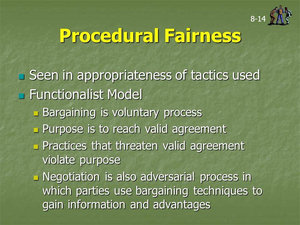 Substantive fairness in negotiations