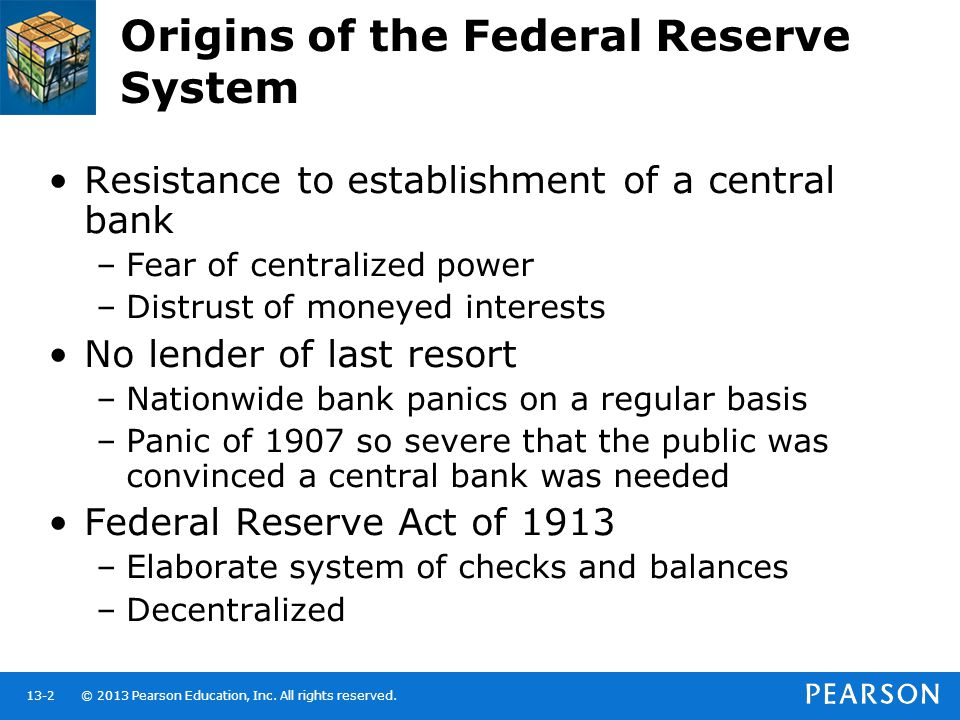 the history of the federal reserve system A brief history of the federal reserve bank of minneapolis,  minneapolis fed leaders, past and present, comment on the history of the federal reserve system.