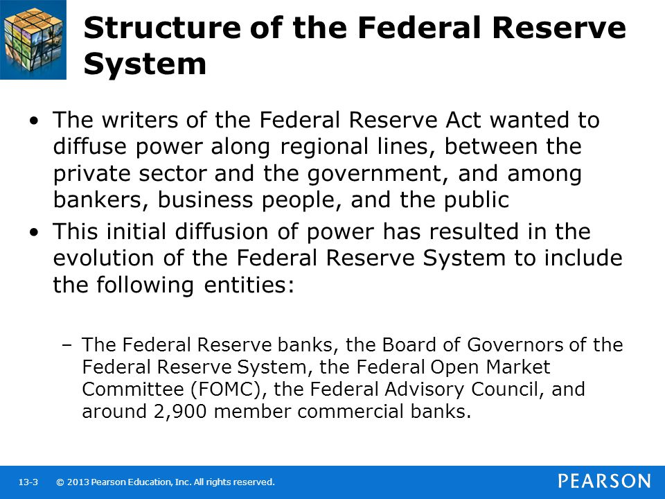 Federal Reserve System Structure Central Banks a...
