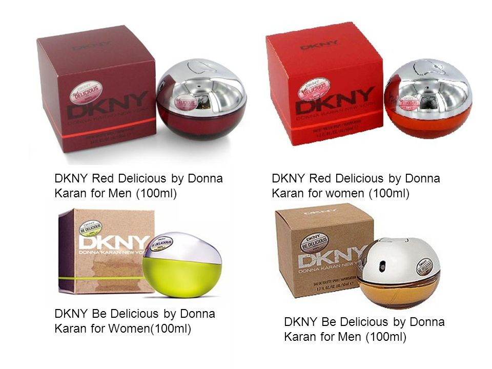 DKNY Red Delicious by Donna Karan for Men (100ml)