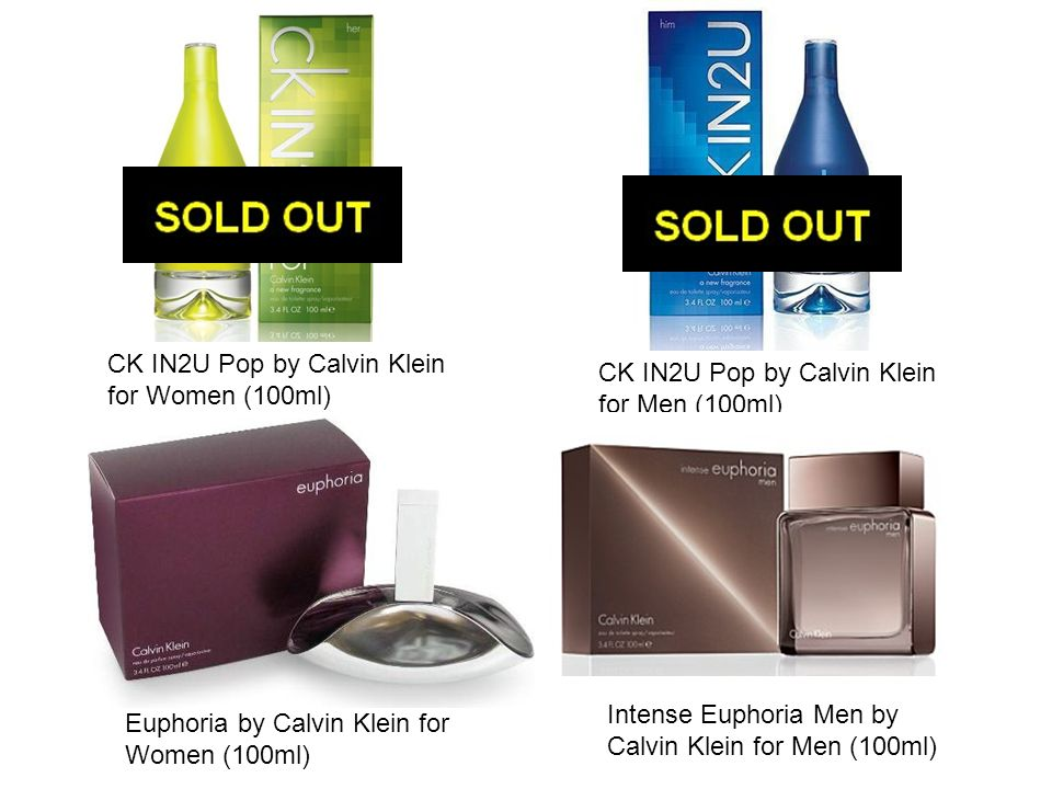 CK IN2U Pop by Calvin Klein for Women (100ml)