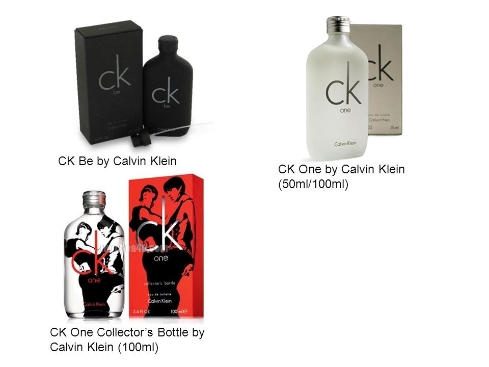 CK Be by Calvin Klein (50ml/100ml)