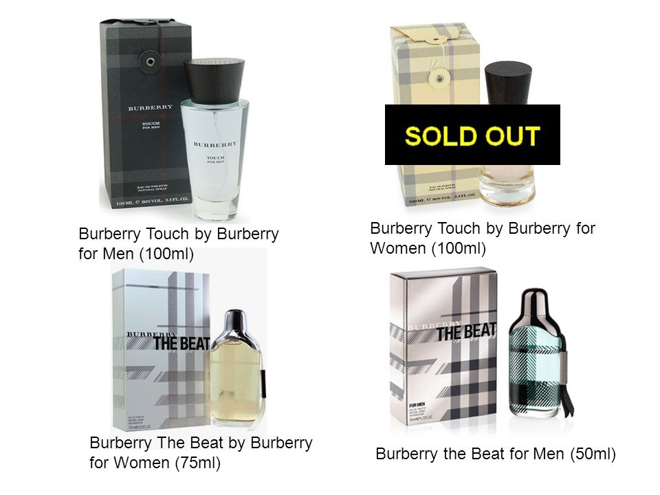 Burberry Touch by Burberry for Women (100ml)