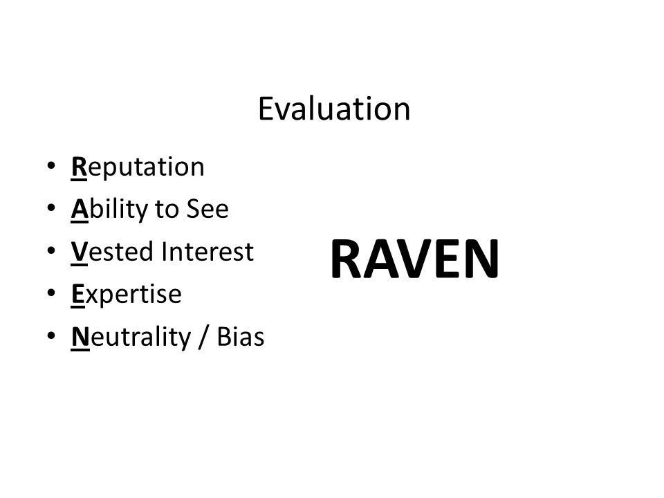 ravens critical thinking inventory The gold standard critical thinking test there is a reason why the watson-glaser™ critical thinking appraisal is the most widely used tool for selecting great managers and developing future leaders: it works.