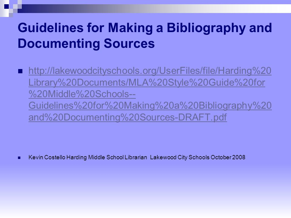 making a bibliography Learn how to create a bibliography with bibtex and biblatex in a few simple steps create references / citations and autogenerate footnotes.