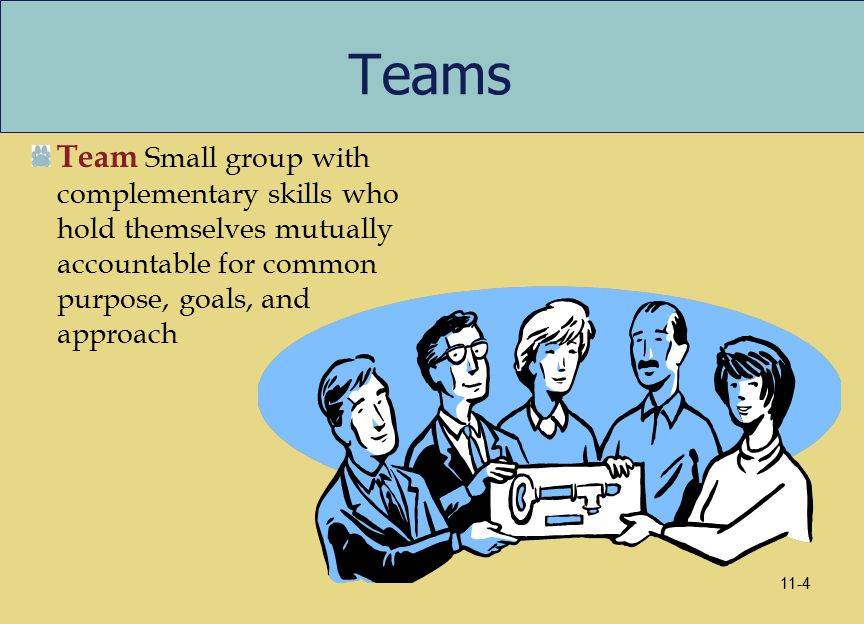 definition of group effectiveness Definition of teamwork - the combined action of a group, especially when effective and efficient.
