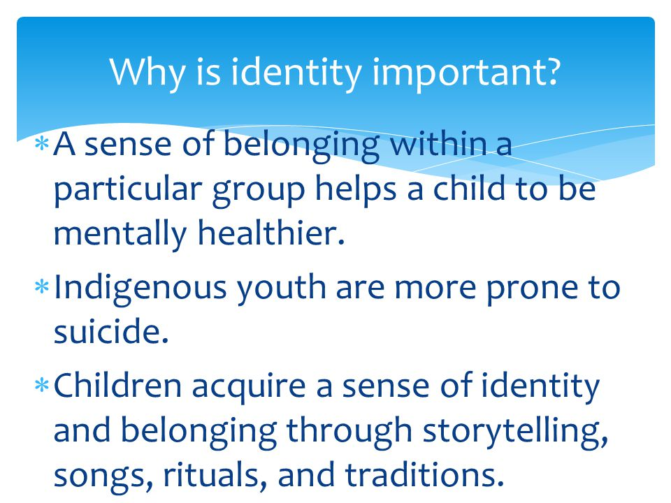 identity and belonging 4 essay Sample essay topics exploring issues of identity and belonging 10 themes and issues related to the context introduction this is a broad context and may be.