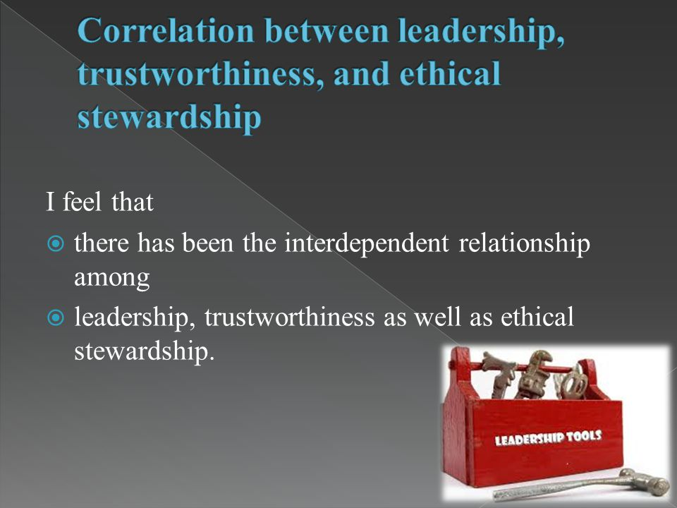 the relationship between ethical leaders and stakeholders Is ethical leadership always beneficial surface acting and deep acting on the relationship between ethical leadership and individual stakeholders, employees.