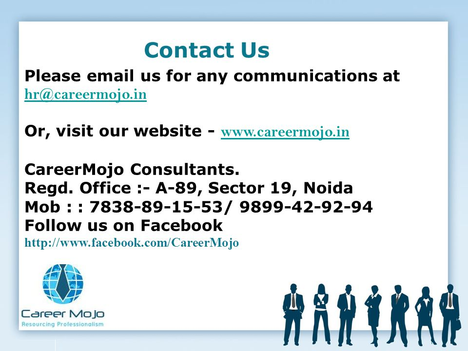 Contact Us Please  us for any communications at