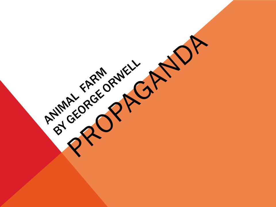 a summary of animal farm by george orwell Get free homework help on george orwell's animal farm: book summary,  chapter summary and analysis, quotes, essays, and character analysis courtesy  of.