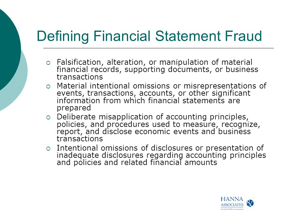 report on financial statement fraud scheme Report to the nations especially as fraud schemes and financial transactions are becoming more complex and sophisticated with financial statement fraud.