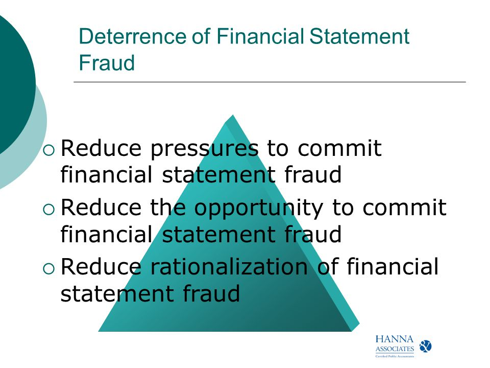 how to detect financial statement fraud