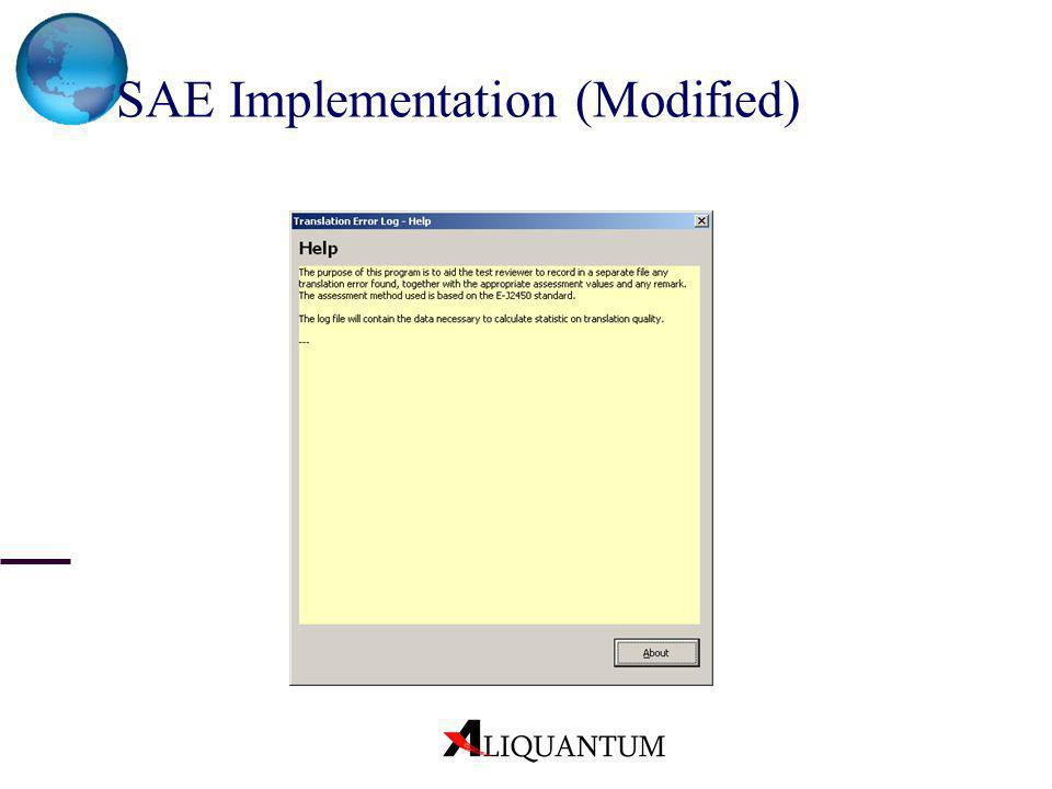 SAE Implementation (Modified)