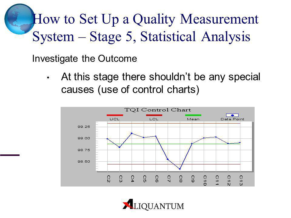How to Set Up a Quality Measurement System – Stage 5, Statistical Analysis