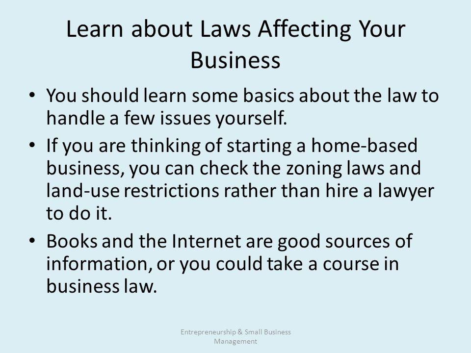 laws that affecting business With the president stating that he intends to push hard in 2010 for a major reform of the country's immigration laws, including those affecting businesses, these issues will likely be coming even more to the fore in the consciousness of american business.
