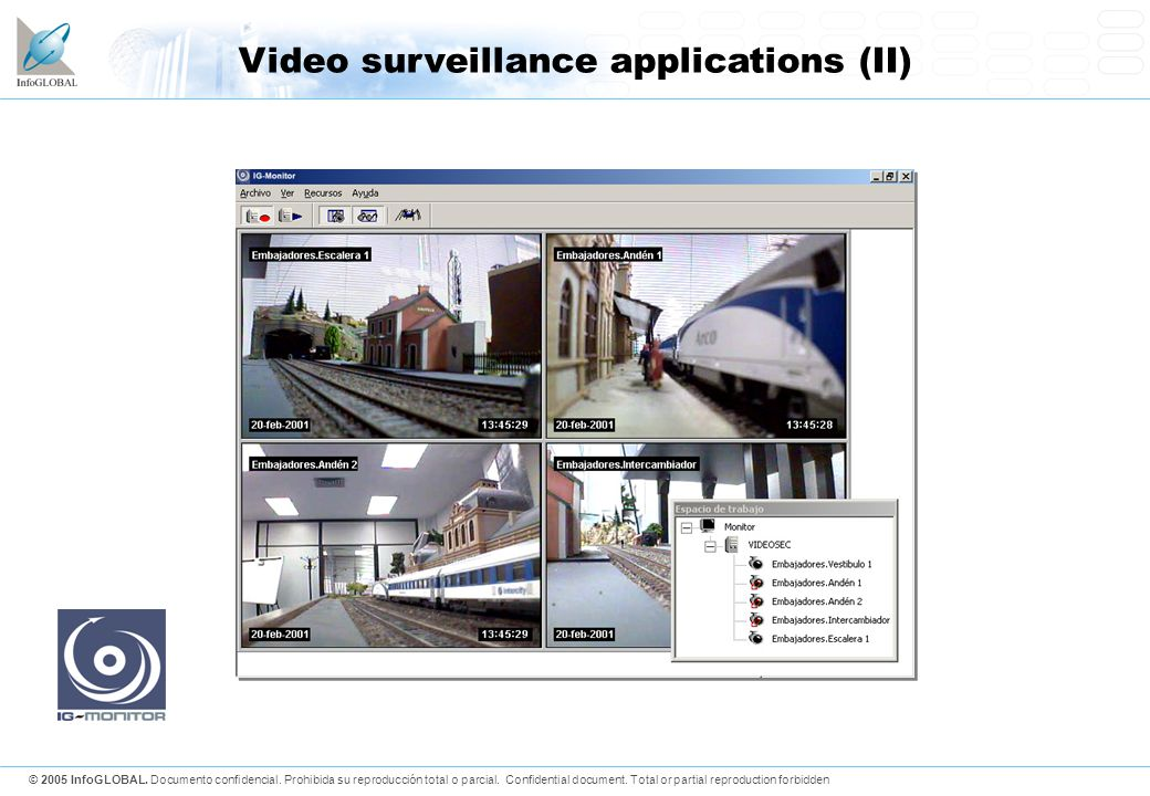 Video surveillance applications (II)