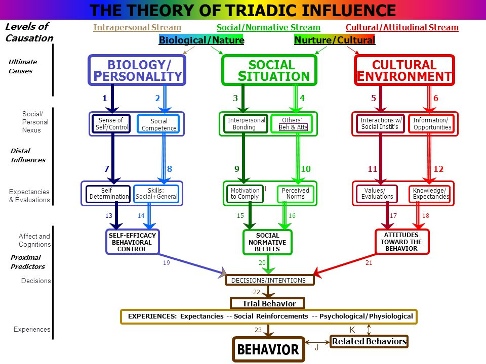 behavioral theory influence on personality Behaviorism, also known as behavioral psychology, is a theory of learning  task , regardless of genetic background, personality traits, and internal thoughts   different factors can influence the classical conditioning process.