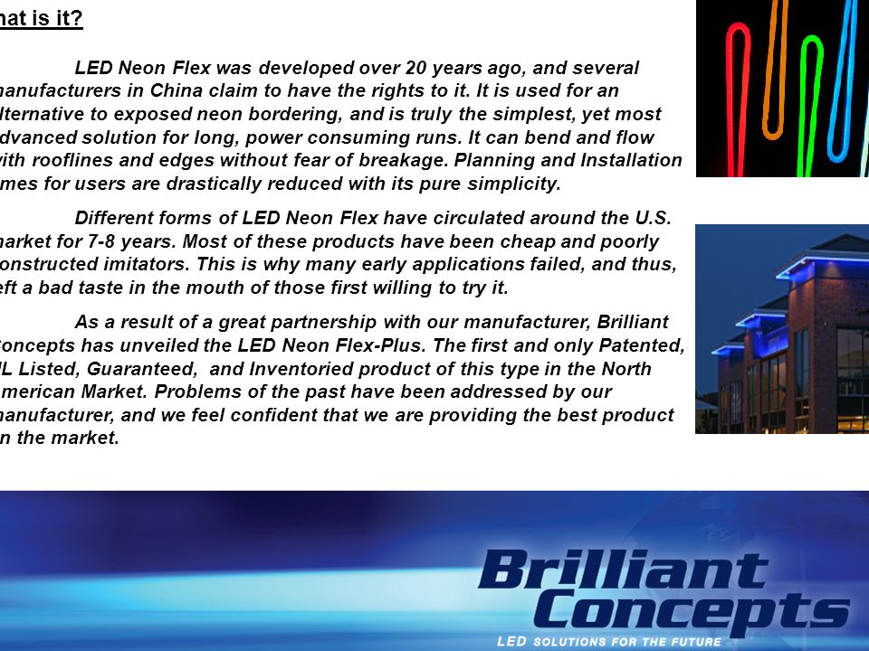LED NEON FLEX - Breakdown