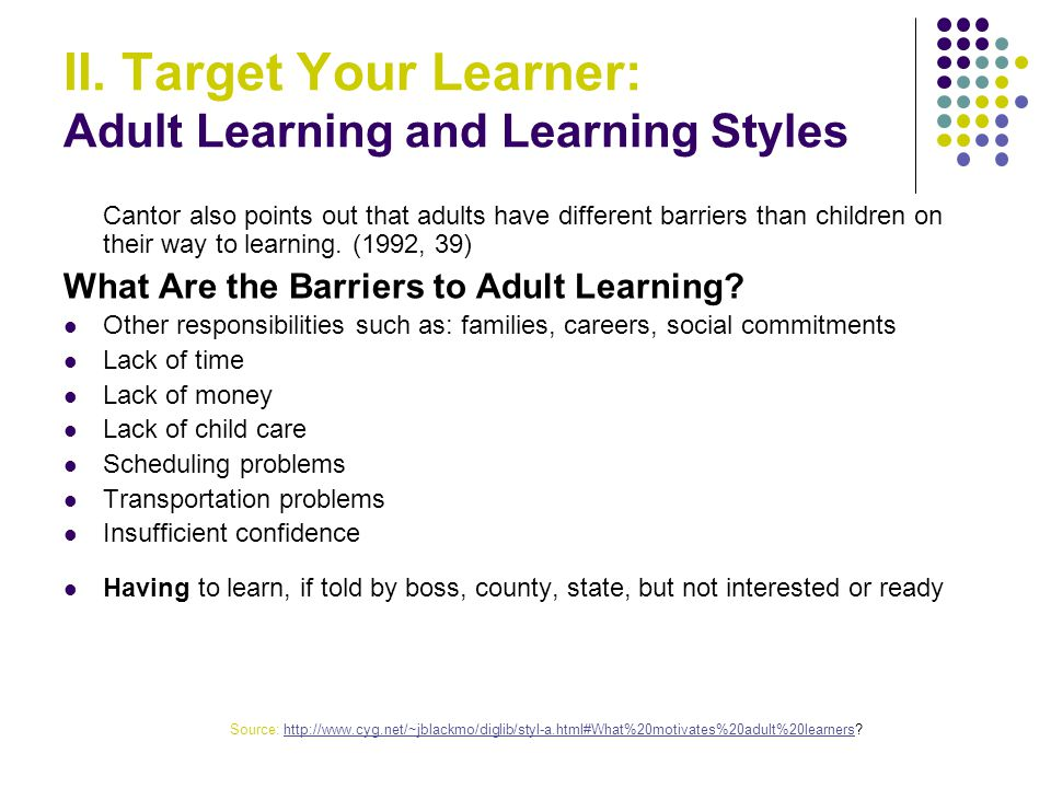 different-adult-learning-styles