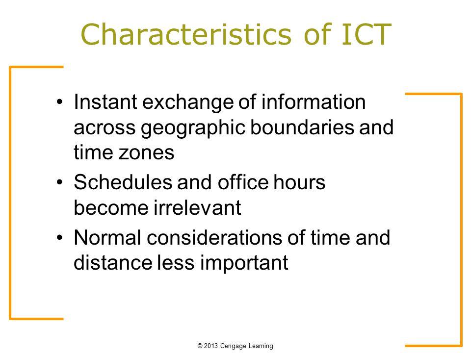 characteristics of online communication pdf