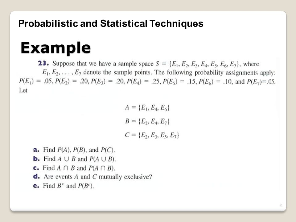 probability and statistical techniques Statistical analysis handbook part x probability distributions 10-2 discrete distributions function of modern statistical methods.