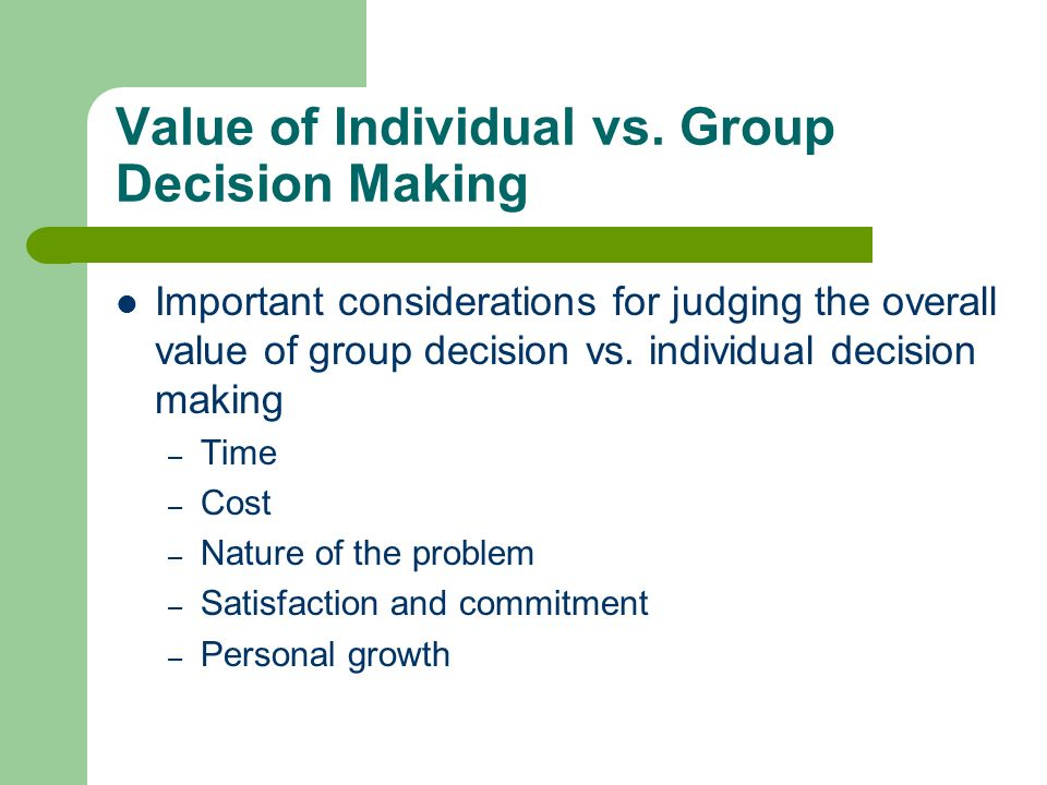 groups vs individuals Highlights we investigate how trust repair might differ with groups vs individuals repairing trust is generally more difficult with groups than individuals both individuals and groups trust less after denying low competence or apologizing for low integrity but the relative difficulty of trust repair w/ groups vs individuals also depends on.