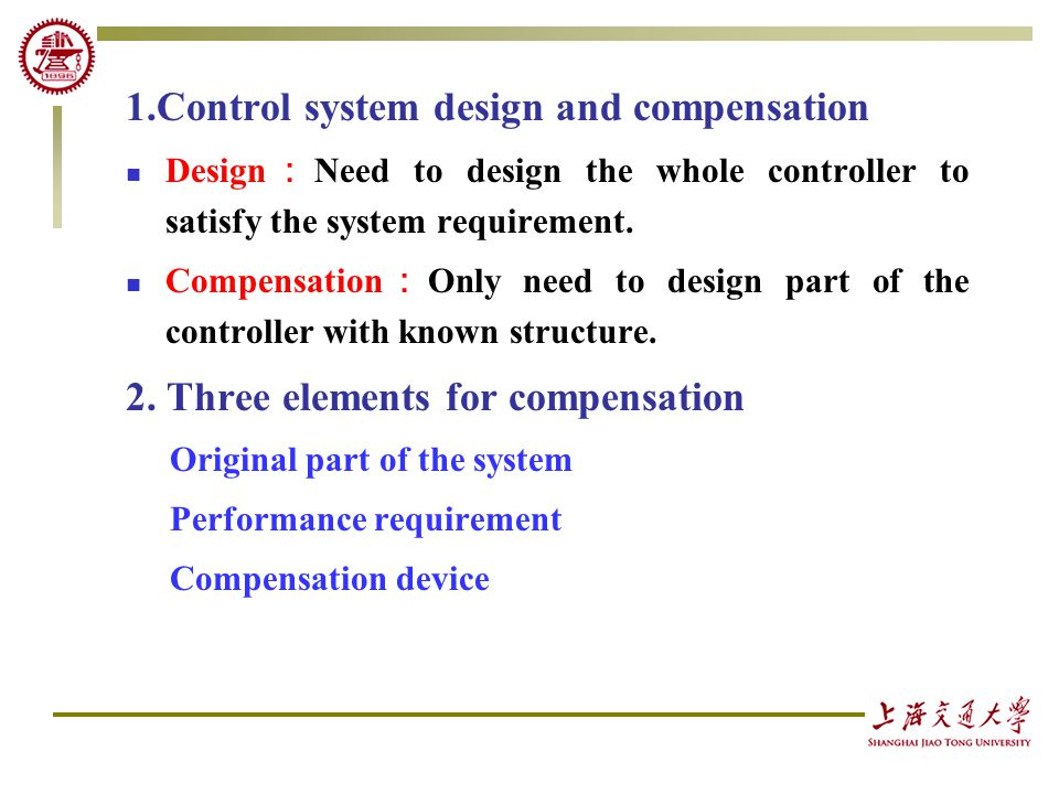 linear control system introduction Introduction to learning dynamical systems   linear, nonlinear  generate inputs to a dynamical system and thereby control the behavior of the system according.