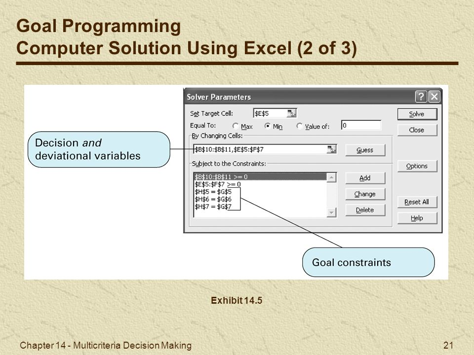 Computer Solution Using Excel (2 of 3)
