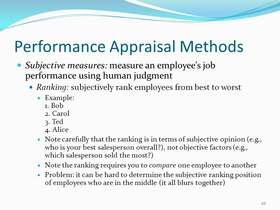 Topic  Performance Appraisal  Ppt Video Online Download