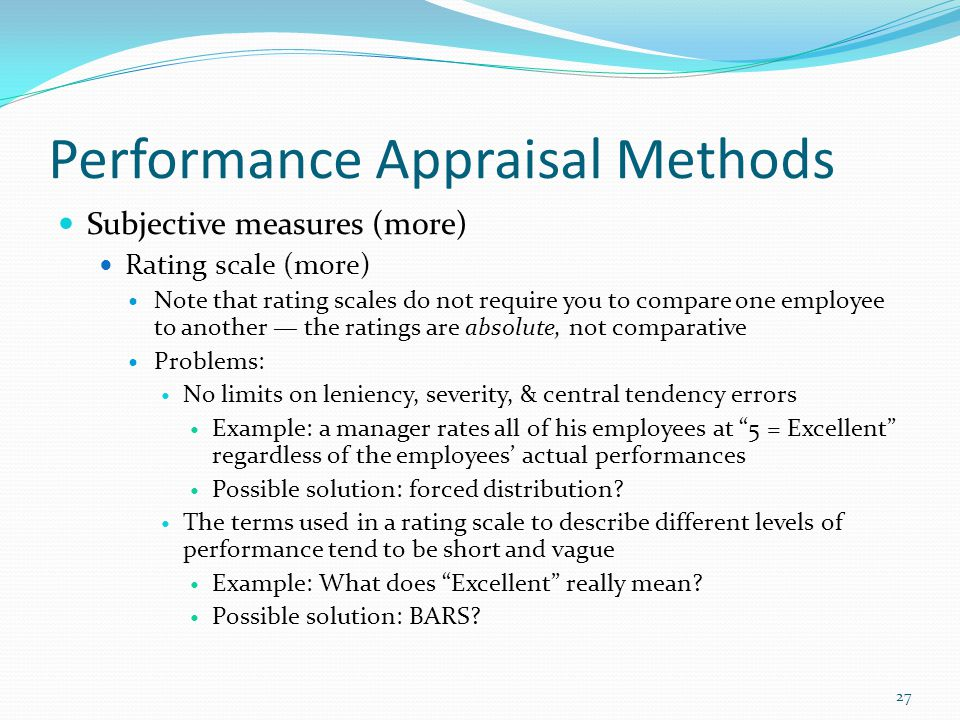 performance appraisal problems and solutions Performance management and appraisal  appraisal performance problems and solutions, and the appraisal interview interesting issues:.