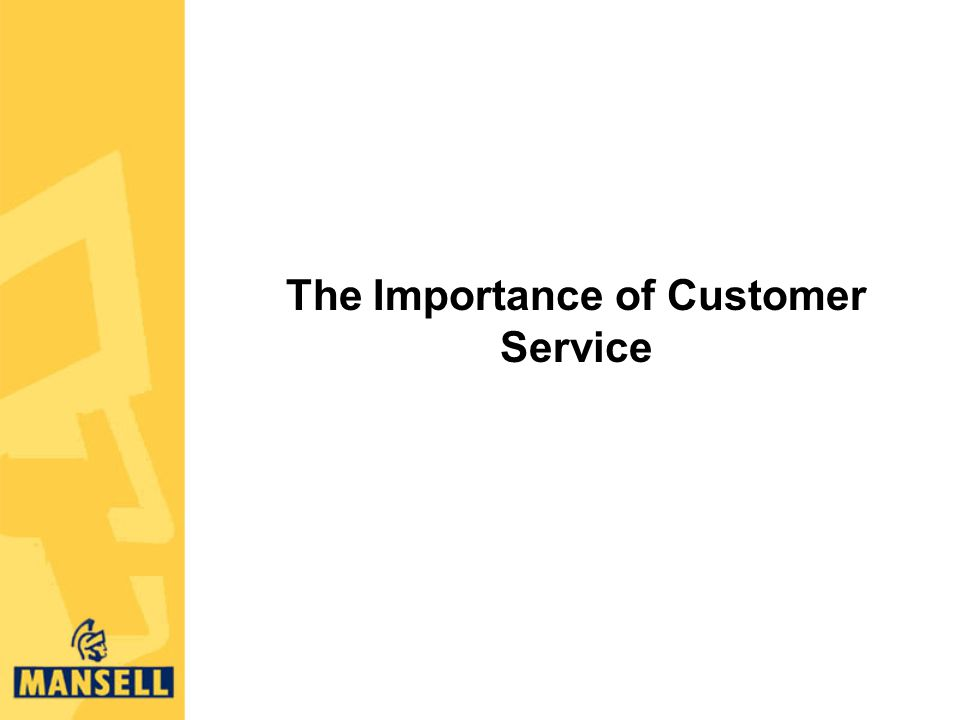 importance customer service The importance of customer service in real estate should never be second guessed real estate investing is unquestionably a customer service industry, and the.