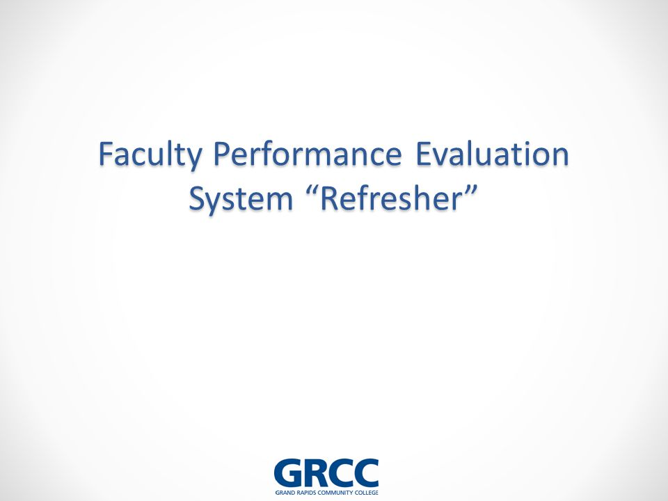 faculty evaluation system Faculty evaluation interactive pdf forms (those which you fill out) must be saved to your computer and then opened with adobe reader or writer if you do not have your web browser configured to already open pdfs with adobe.