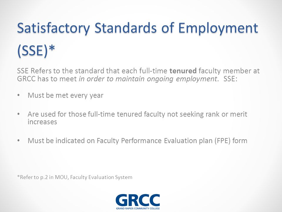 Faculty Performance Evaluation (FPE) Plan - ppt download