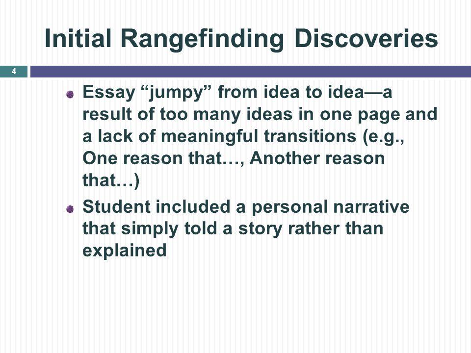 how to narrow expository essay