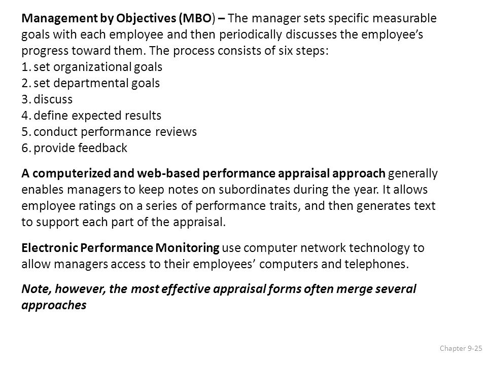 Performance Management And Appraisal  Ppt Download