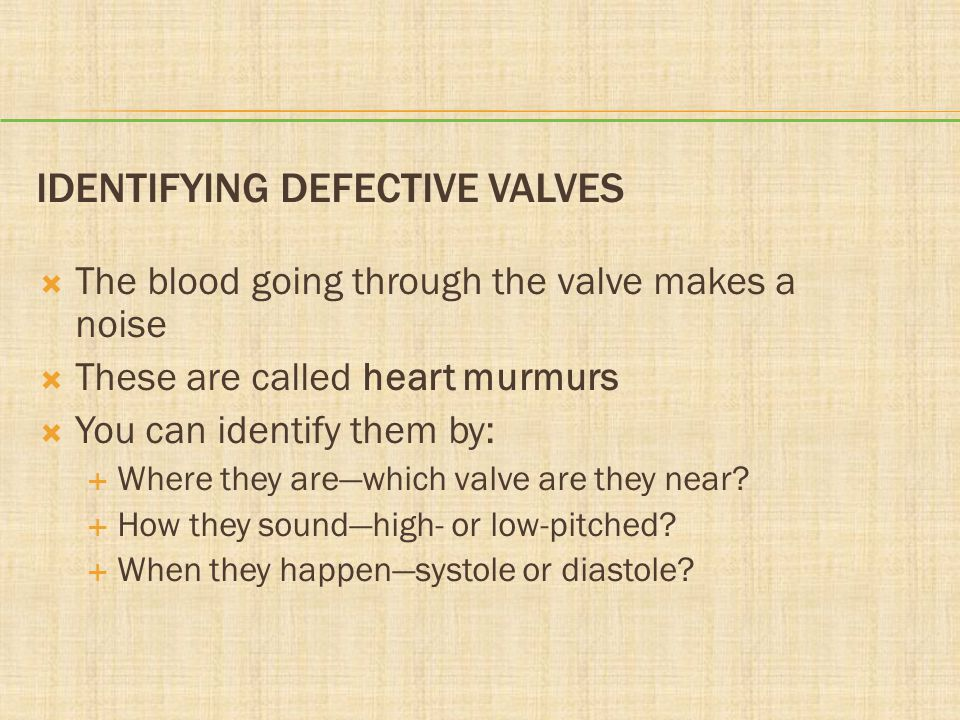 Identifying Defective Valves