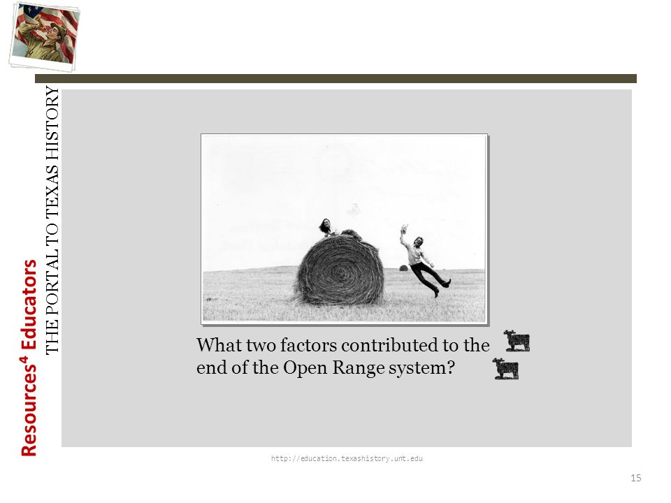 What two factors contributed to the end of the Open Range system