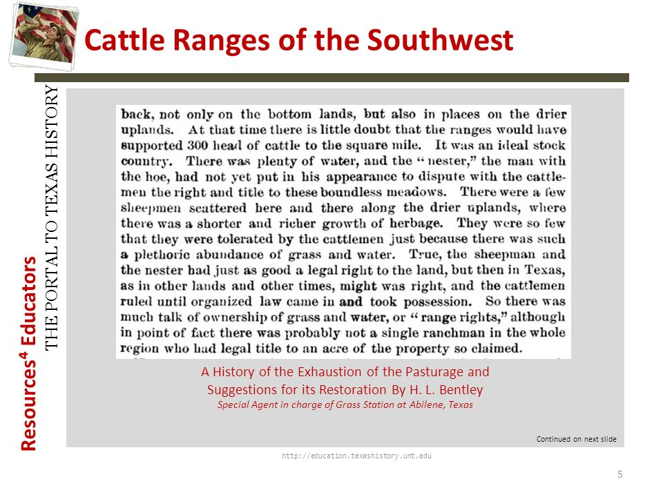 Cattle Ranges of the Southwest
