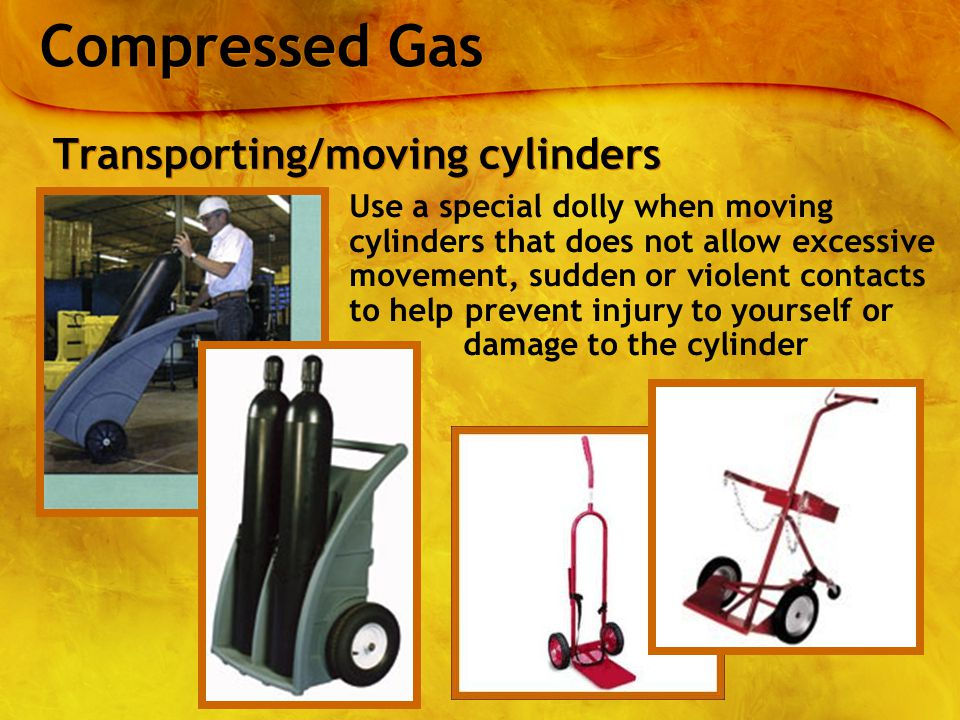 how to move gas cylinders
