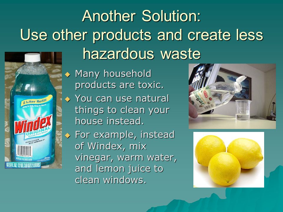Problems and solutions ppt video online download for Waste things uses