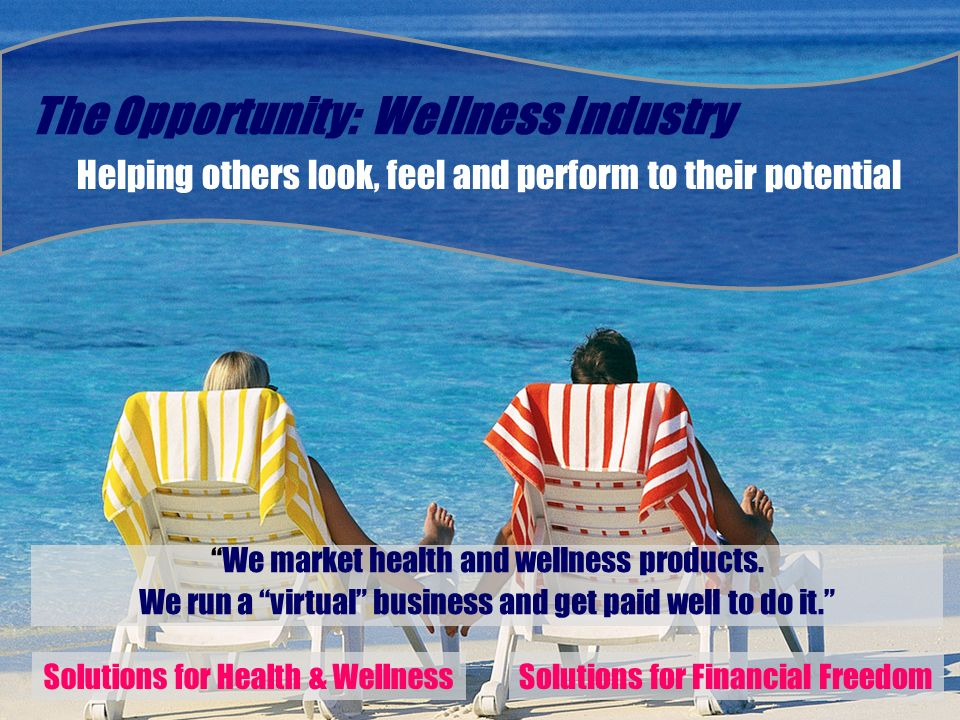 The Opportunity: Wellness Industry
