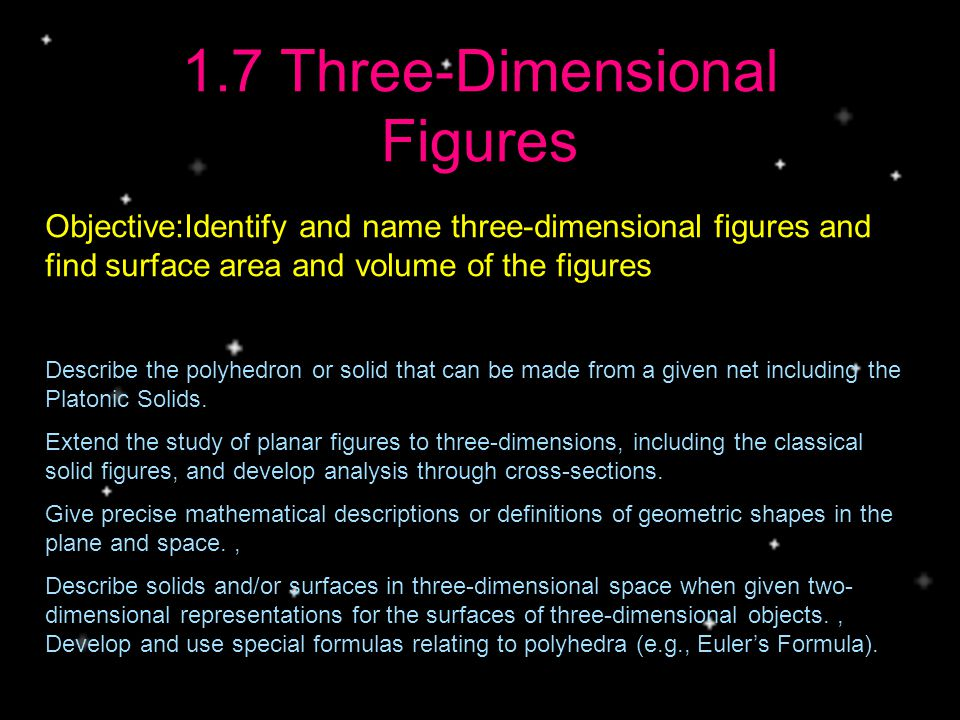 17 Three Dimensional Figures Ppt Video Online Download