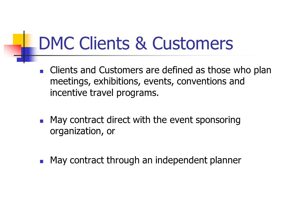 DMC Clients & Customers
