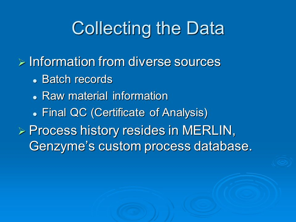 Collecting the Data Information from diverse sources