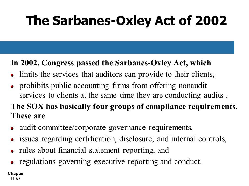 impact of the sarbanes oxley act sox Thales esecurity assists in data security compliance with sarbanes oxley act that regulates financial reporting and auditing of publicly traded companies.