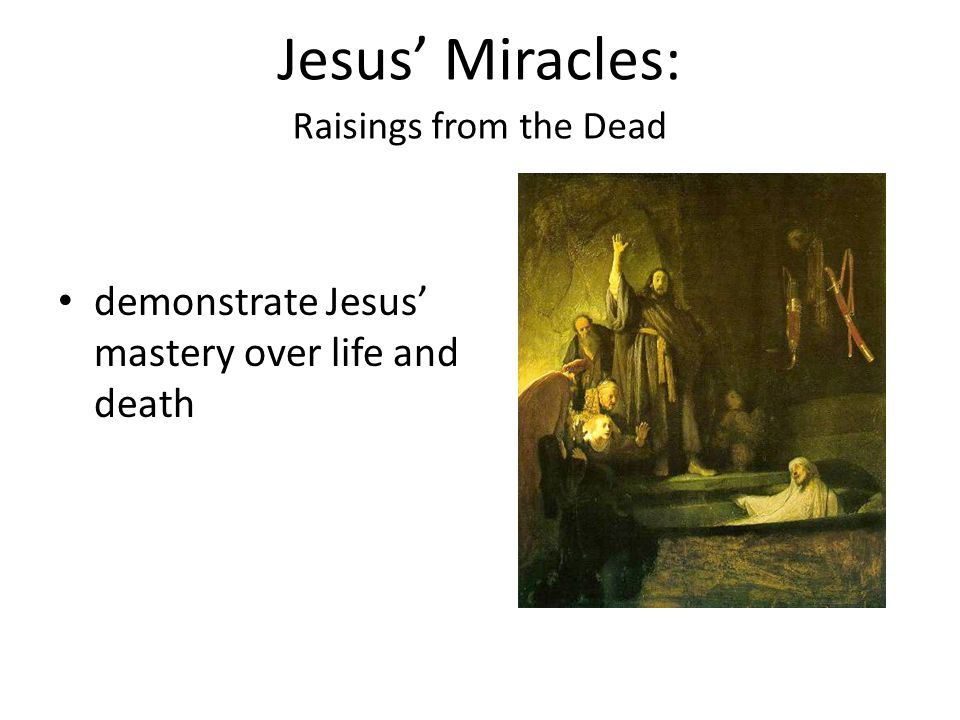 a study of the life miracles and death of jesus christ How confident can we be that jesus christ actually lived  within a few  decades of his supposed lifetime, he is mentioned by jewish and  simon  gathercole is reader in new testament studies at the university of cambridge   if someone were performing miracles, people would write about them.